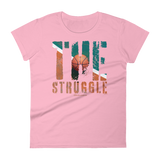 The Struggle Basketball - Womens Fashion Fit T Shirt