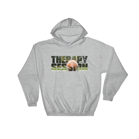 Therapy Session Football - Soft Comfort Fit Adult Hoodie