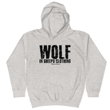 Wolf in Sheeps Clothing - Soft Comfy Fit Kids Hoodie