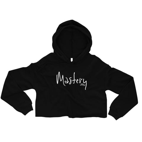 Mastery - Womens Cropped Super Soft Hoodie