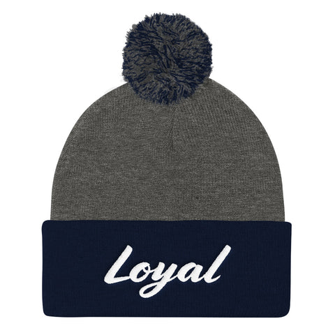 Loyal - Pom Pom Knit Cap