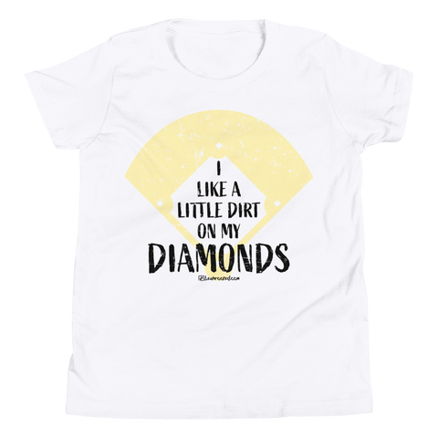 I Like A Little Dirt On My Diamonds - Kids Favorite Fit T Shirt