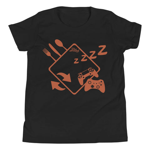 Eat Sleep Game Repeat - Kids Favorite Fit T Shirt