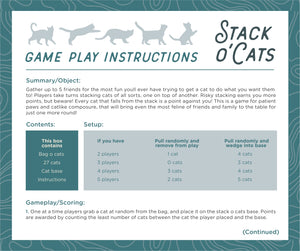 Stack O' Cats Dexterity Game