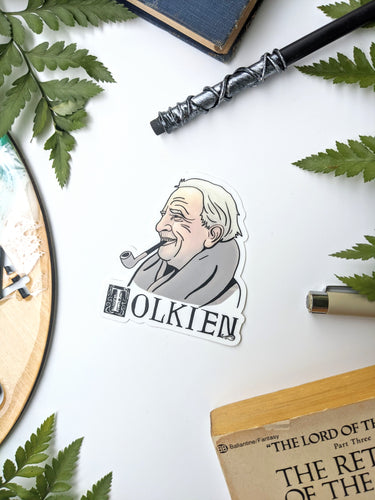 Literary Figures Collection- J.R.R Tolkien Sticker