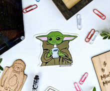 Load image into Gallery viewer, Baby Yoda - Sanitize You Must Sticker