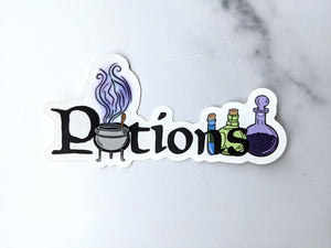 Potions - Wizarding School Class Series Sticker