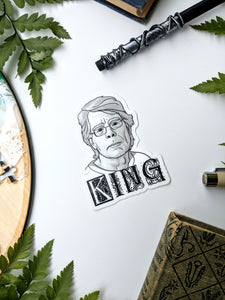 Literary Figures Collection- Stephen King Sticker
