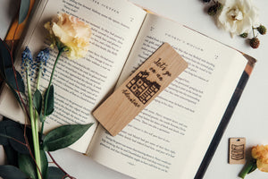 Let's Go On An Adventure Bookmark