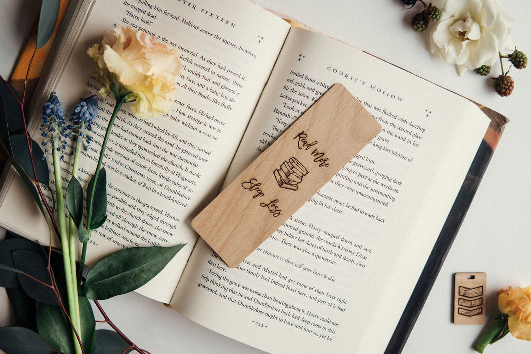 Read More Sleep Less Bookmark