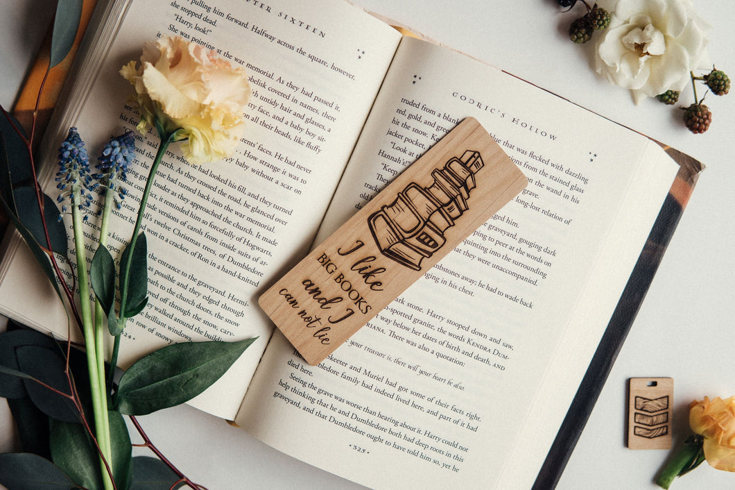 I Like Big Books Bookmark