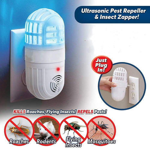 2-in-1 Ultrasonic Pest Repeller