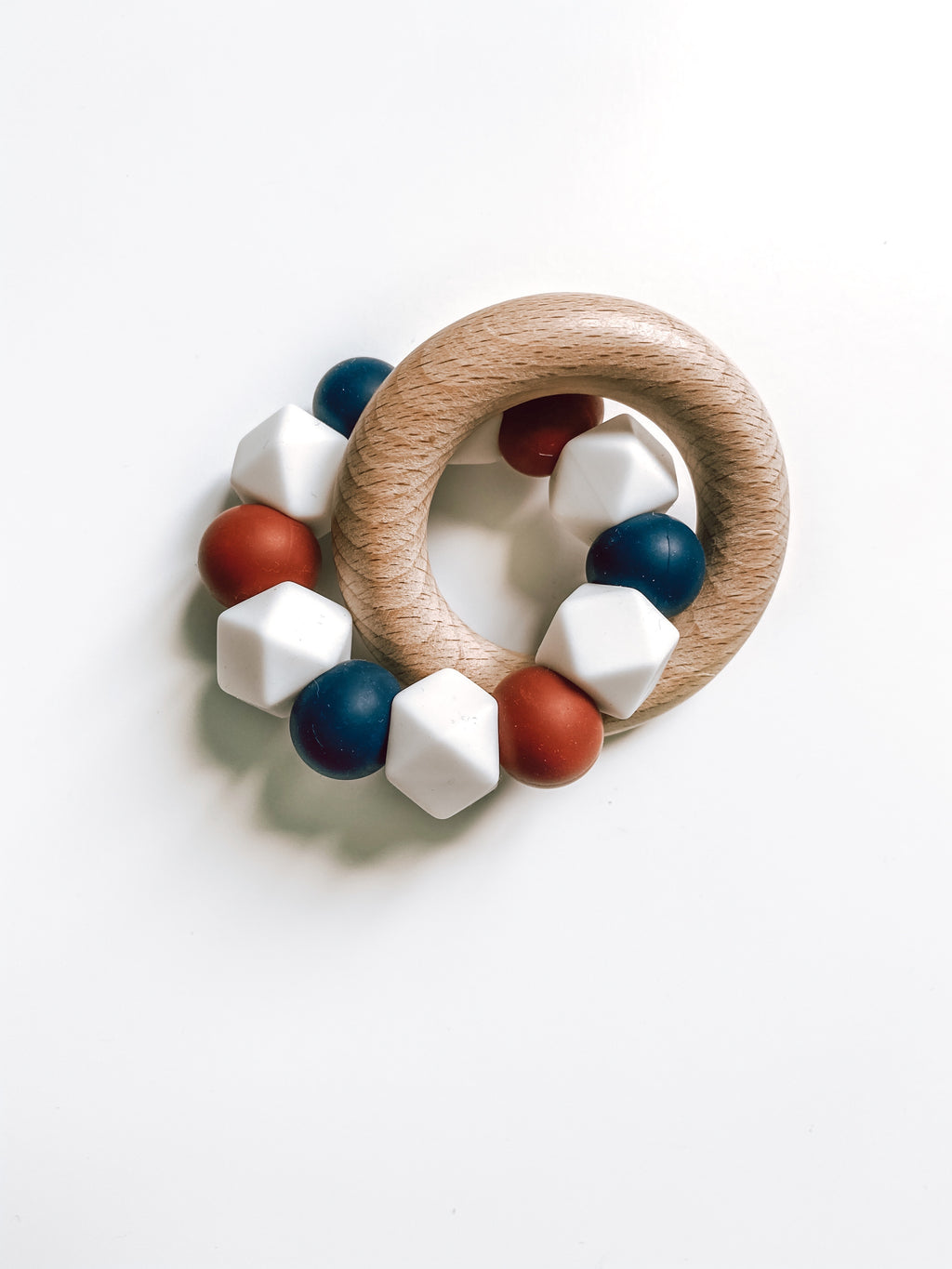 americana collection | teether (white)