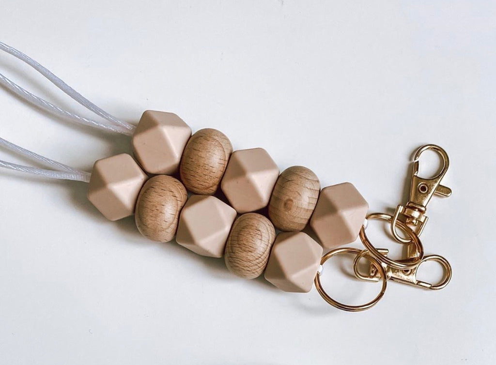 blush + wood // lanyard
