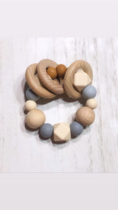 neutral + hazelnut // teether