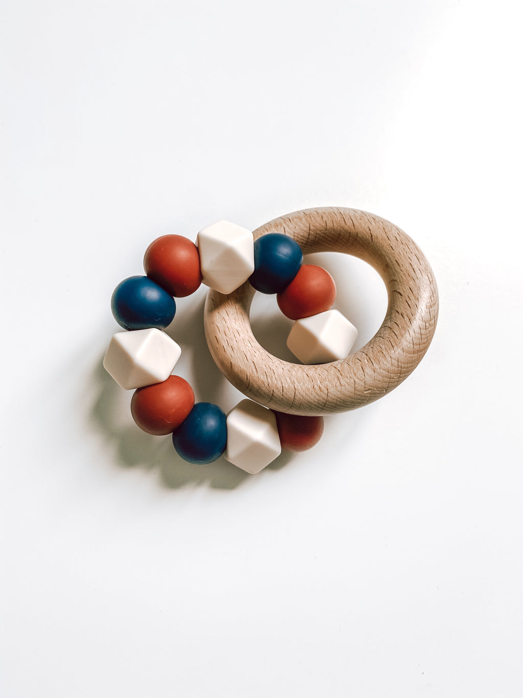 americana collection | teether (ivory)
