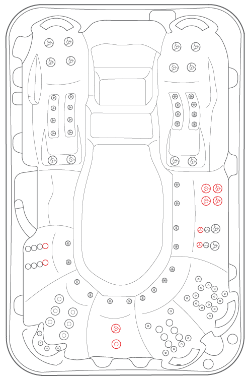 Spa Layout