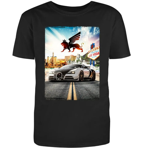 BUGATTI LAS VEGAS SIGN TEE - Royalty Exotic Cars