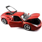 1:18 Model Car - Red Ferrari 488 GTB - Royalty Exotic Cars