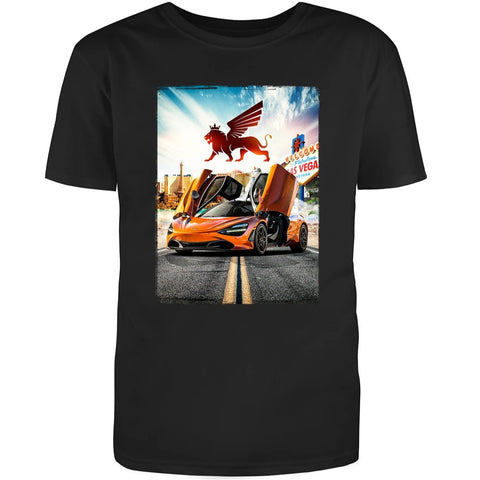 720S LAS VEGAS SIGN TEE - Royalty Exotic Cars