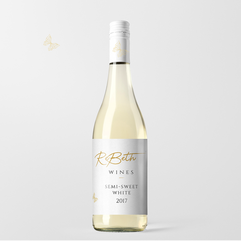 Semi-Sweet White 2017 Case (6 Bottles)