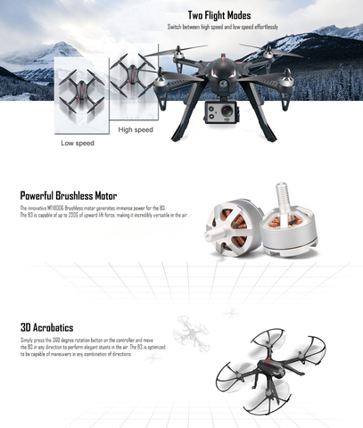 MJX Bugs 3 Quadcopter Drone