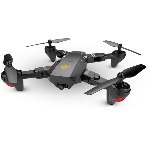 Visuo Foldable Drone Quadcopter w/ 2.0MP 720P Camera RTF - Geez Drones