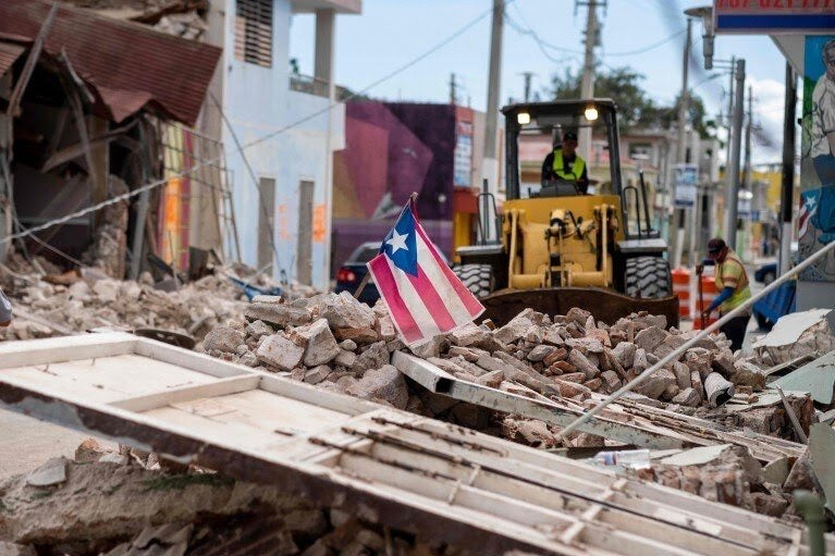 Operation Puerto Rico Quake- Black 6 Responds To Recent Earthquakes