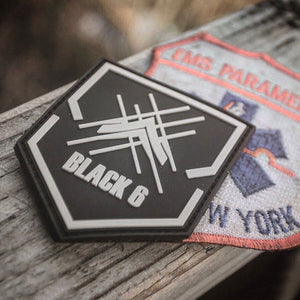 The Black 6 Project Rubber Patch
