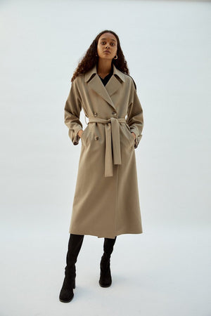Rebecca Trench | Beige | coats NZ | MUSIER PARIS NZ | Black Box Boutique Auckland | Womens Fashion NZ