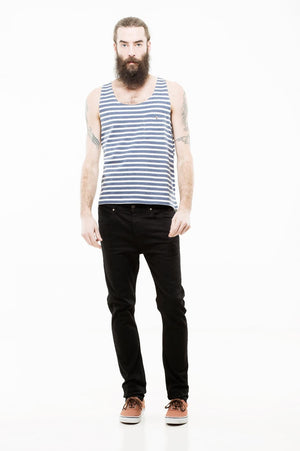 Steve | Black | DR DENIM NZ | Denim NZ | Black Box Boutique Auckland | Mens Clothing NZ