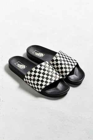Slide on Checker - Black
