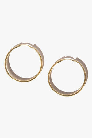 Large Mondo Hoops | Gold | Jewellery NZ | FLASH JEWELLERY NZ | Black Box Boutique Auckland | Womens Fashion NZ