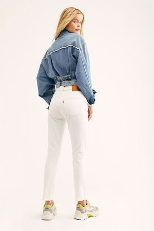 501 Crop | In The Clouds | Denim NZ | LEVI'S NZ | Black Box Boutique Auckland | Womens Fashion NZ