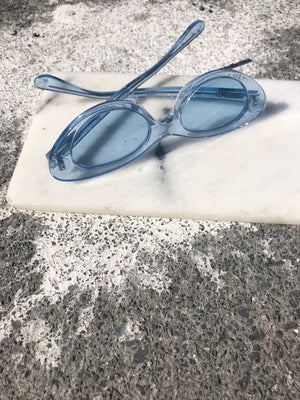 PILOT SUNGLASSES | BLUE SPARKLE