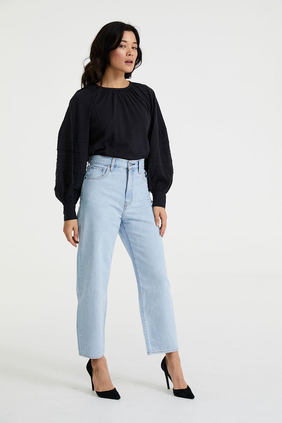 Balloon Leg | Dad Jokes | Denim NZ | LEVI'S NZ | Black Box Boutique Auckland | Womens Fashion NZ