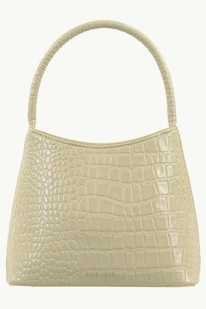 The Chloe | Bone Oily Croc | BRIE LEON NZ | Bags NZ | Black Box Boutique Auckland | Womens Fashion NZ