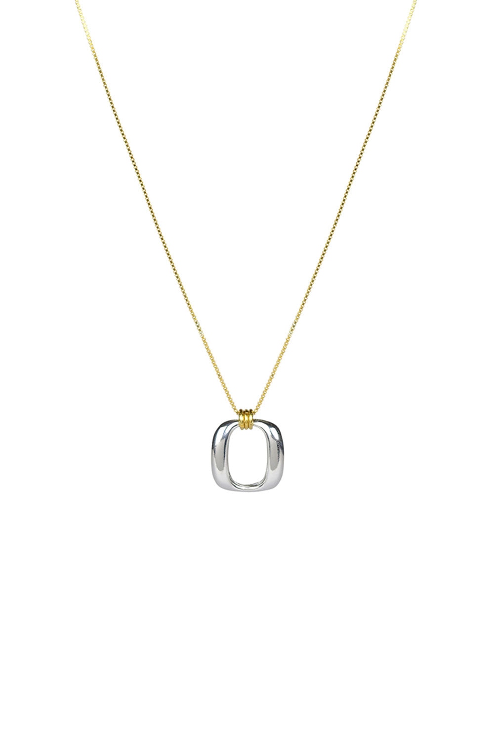 ENLAZAR PENDANT | SILVER AND GOLD | BRIE LEON NZ | Jewellery NZ | Black Box Boutique Auckland | Womens Fashion NZ