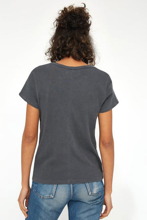 Frank Tee | Slate | Tops NZ | LACAUSA NZ | Black Box Boutique Auckland | Womens Fashion NZ