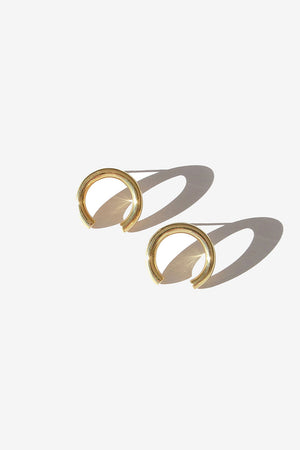 Isa Earrings | Gold | Jewellery NZ | FLASH JEWELLERY NZ | Black Box Boutique Auckland | Womens Fashion NZ