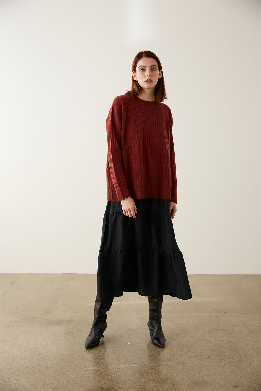 JO JUMPER | BORDEAUX