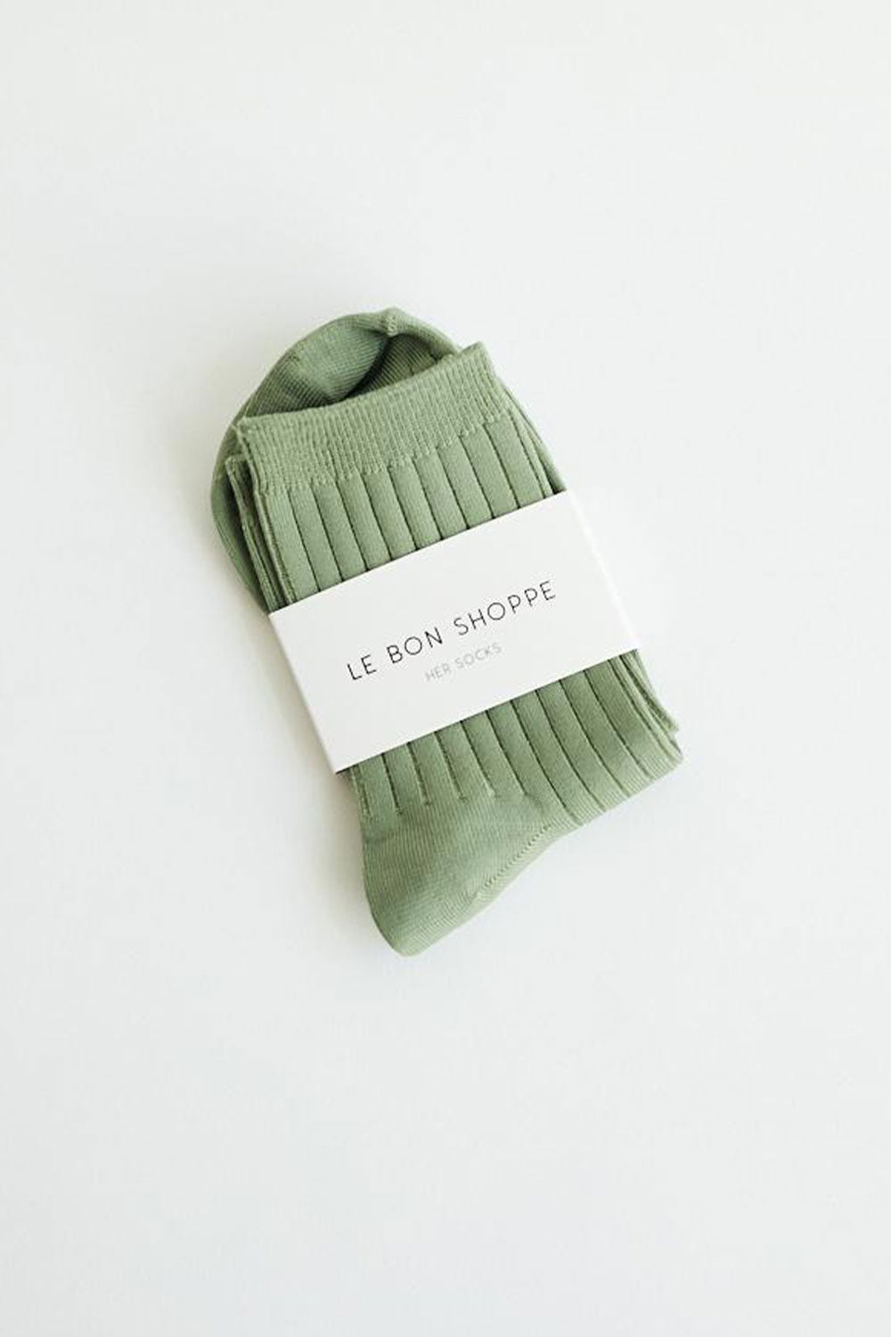 HER SOCKS | SOLID SAGE | LE BON SHOPPE NZ | Accessories NZ | Black Box Boutique Auckland | Womens Fashion NZ