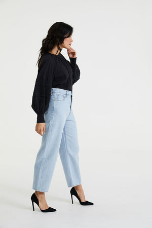 BALLOON LEG | DAD JOKES | LEVI'S NZ | Denim NZ | Black Box Boutique Auckland | Womens Fashion NZ