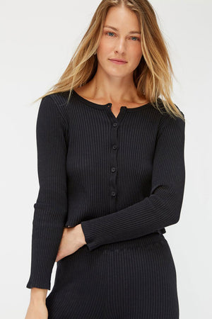 Lucy Cardigan | Tar | LACAUSA NZ | Tops NZ | Black Box Boutique Auckland | Womens Fashion NZ