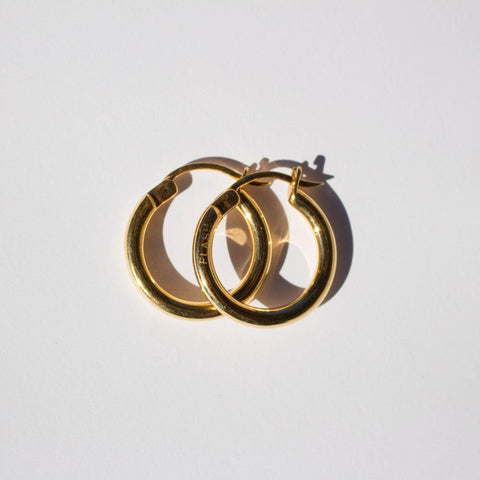 MINI DOOZIE HOOPS | GOLD