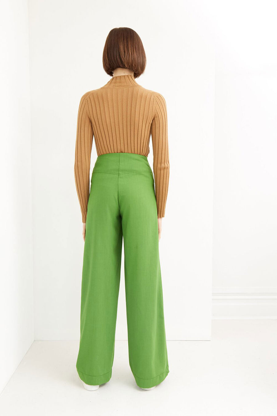 Moss Pant | Green | Bottoms NZ | IDAE NZ | Black Box Boutique Auckland | Womens Fashion NZ