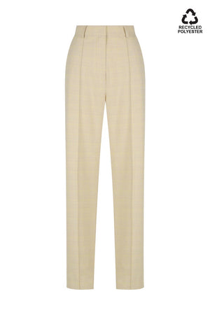 Axel Pant | Beige Check | pants NZ | HANSEN & GRETEL NZ | Black Box Boutique Auckland | Womens Fashion NZ