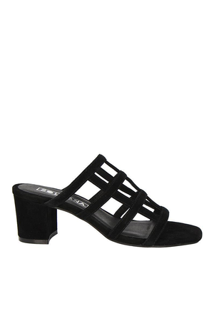 SPENCER MULE | BLACK SUEDE | SOL SANA NZ | Footwear NZ | Black Box Boutique Auckland | Womens Fashion NZ