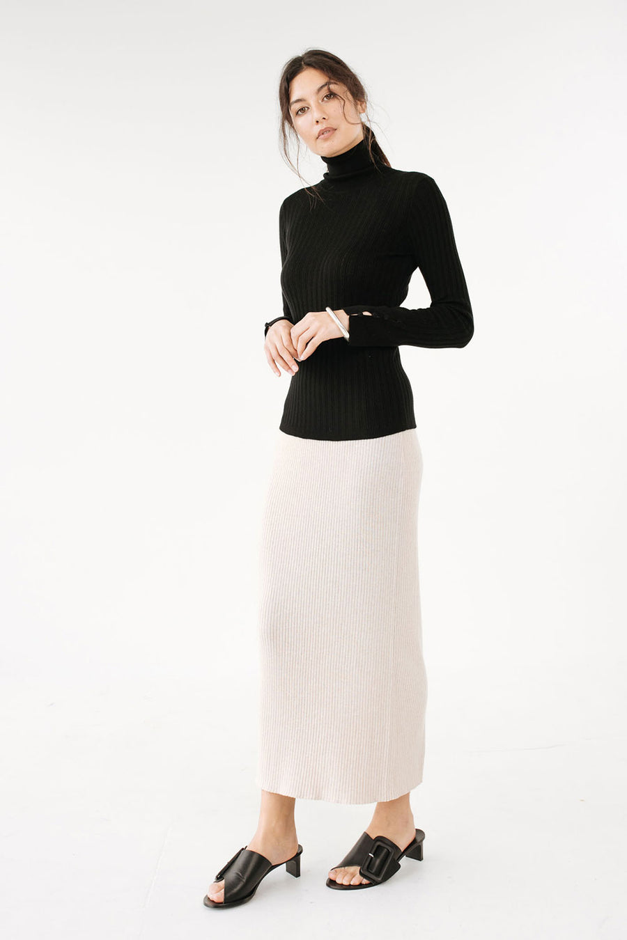 Remi Turtle Neck | Black | Tops NZ | MARLE NZ | Black Box Boutique Auckland | Womens Fashion NZ