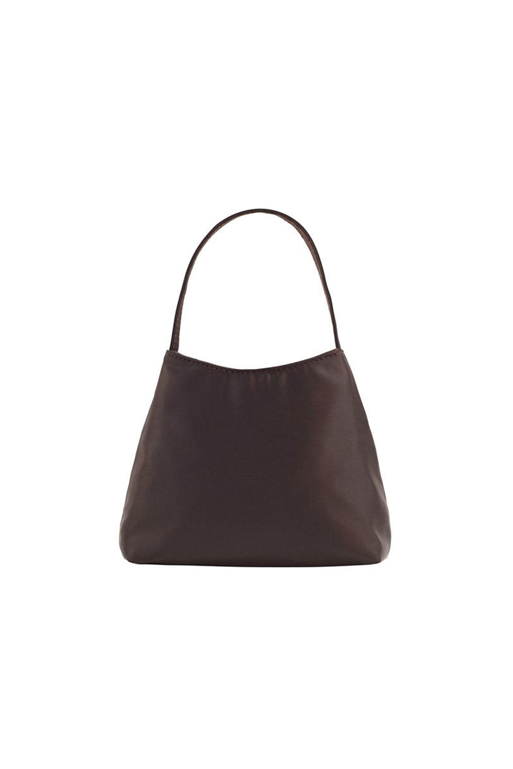 THE MINI CHLOE SATIN | CHOCOLATE